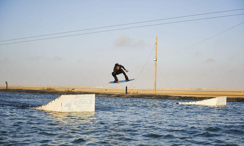 Stage de Kite en bungalow sur la lagune à Dakhla