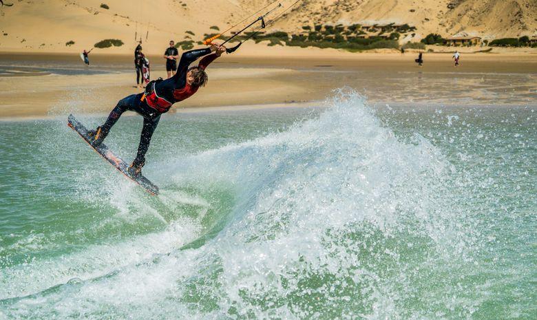 Stage Kite en écolodge au pied des vagues à Dakhla