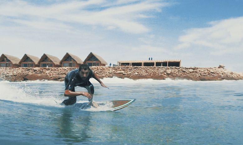 Stage Kite Strapless au pied des vagues à Dakhla