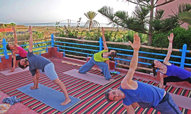 Séjour Surf & Yoga sur la plage de Tamraght