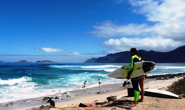 Retraite Yoga & Surf en Surfcamp à Lanzarote