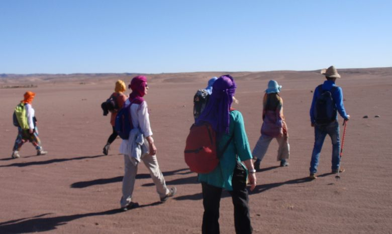 Retraite Yoga & Marche dans le désert