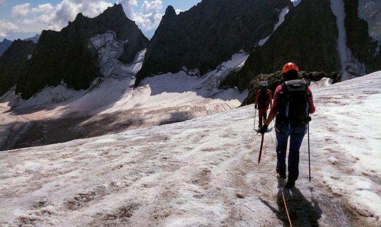 Initiation à l'alpinisme au cœur de la Vanoise