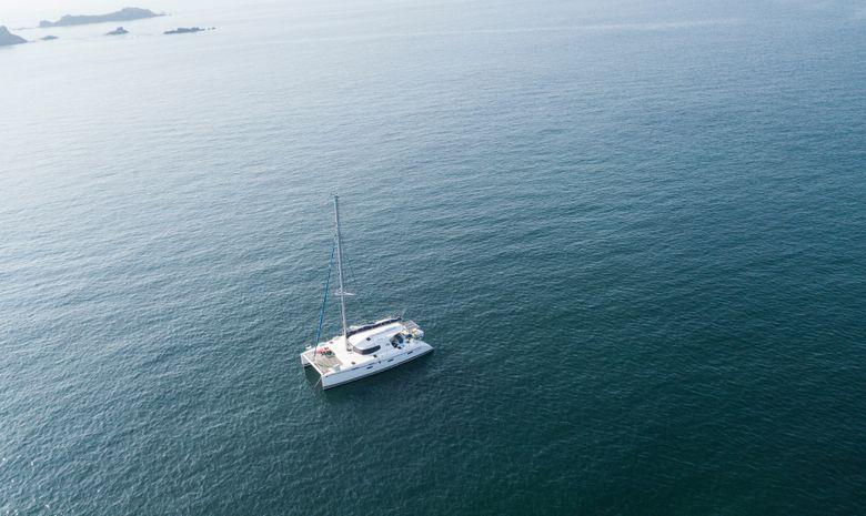 Croisière Bretagne sud - catamaran LAGOON 380