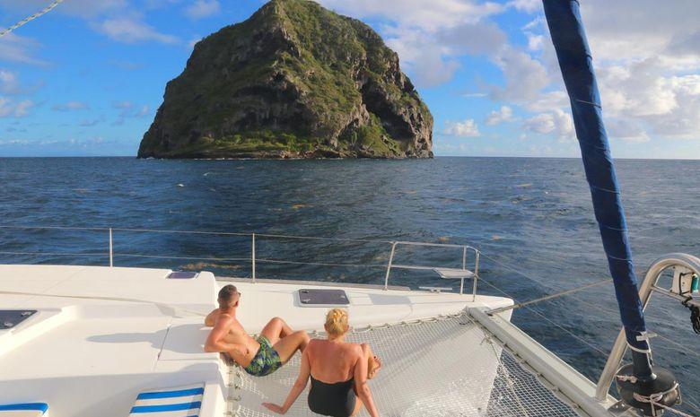 Croisière Lag 450 Tour de Martinique