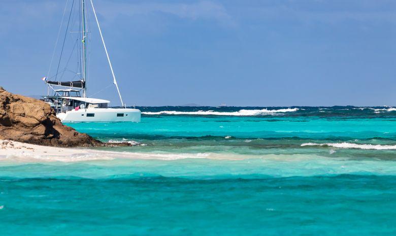 Croisière privée aux Grenadines - catamaran 40'