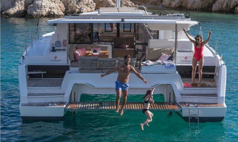Croisière privée en Guadeloupe - catamaran 42'