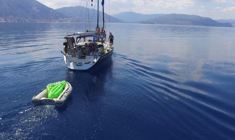 Croisière cabine en Crète - voilier 51'