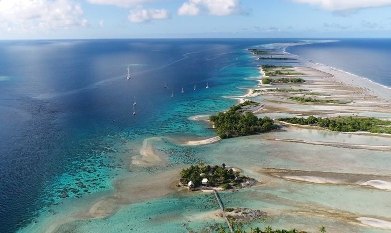 Croisière privée Tahiti - Tuamotu - catamaran 41'