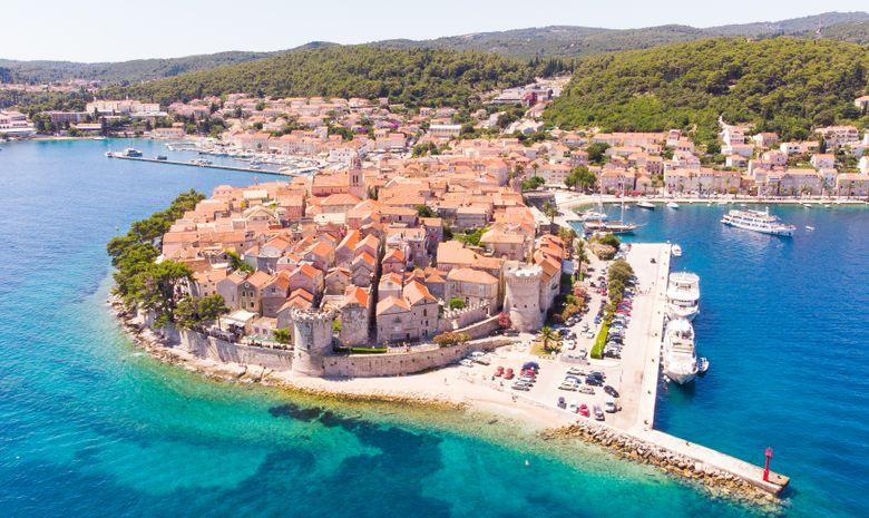 Croisière Croatie départ Dubrovnik - voilier 46'