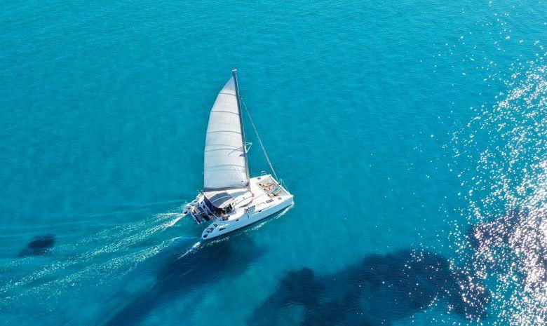 Croisière privée Îles Saroniques - catamaran 38'
