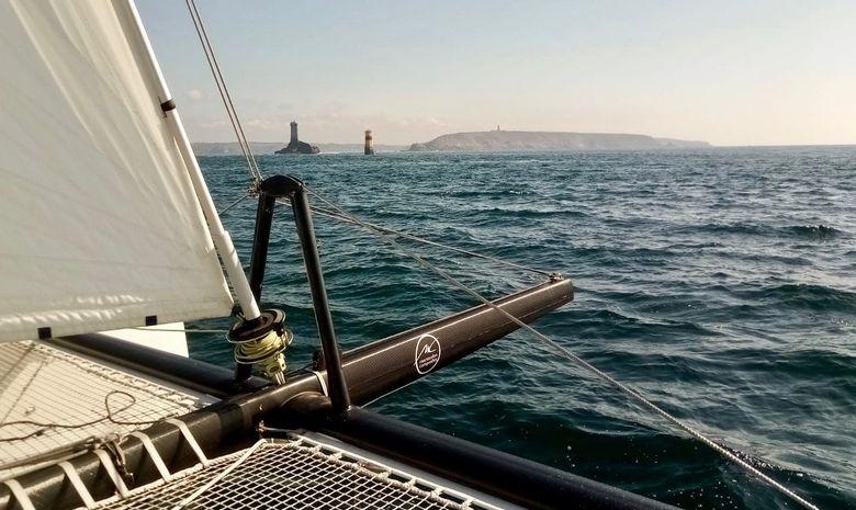 Croisière Bretagne Nord sur un catamaran TS42