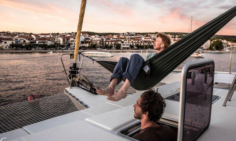 Croisière Croatie - Îles Kornati - catamaran 39'