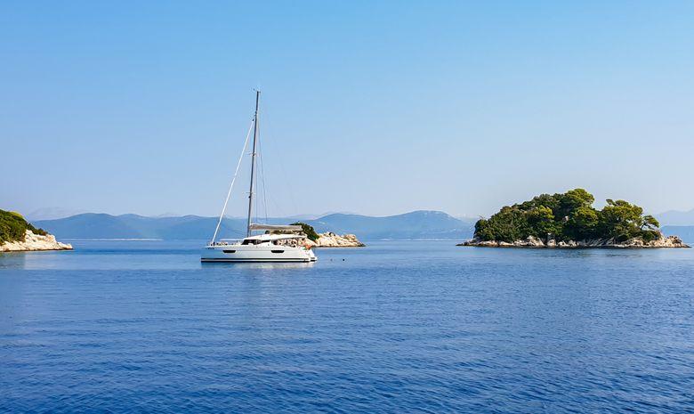 Croisière Croatie départ Dubrovnik - catamaran 44'