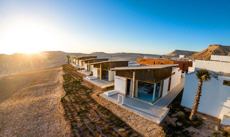 Séjour Kitesurf autonome en bungalow luxe à Dakhla