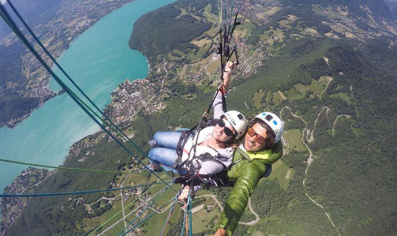 Journée découverte au-dessus du Lac d'Annecy-2